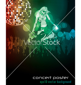 Free concert poster vector - Free vector #252771