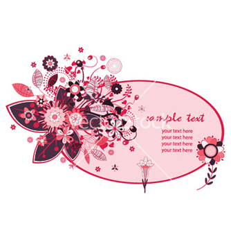 Free floral frame vector - Kostenloses vector #253251