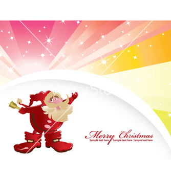 Free christmas greeting card vector - Free vector #253261