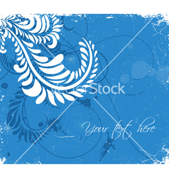 Free grunge floral background vector - бесплатный vector #253581