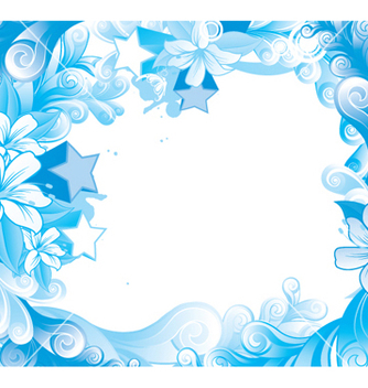 Free abstract floral vector - Free vector #253741