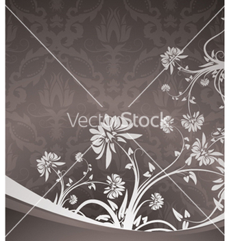 Free vintage floral background vector - vector #253991 gratis