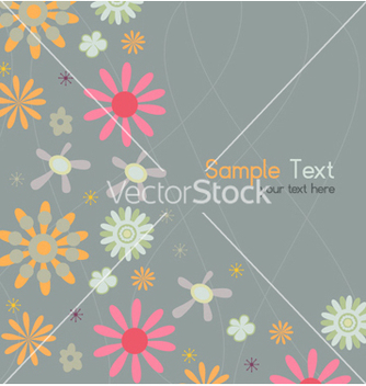 Free abstract floral background vector - Free vector #254361