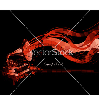 Free abstract music background vector - Free vector #254371