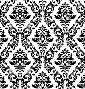 Free damask seamless pattern vector - Kostenloses vector #254511
