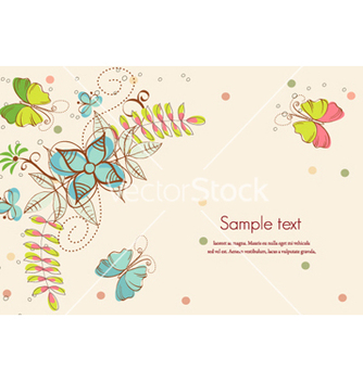 Free abstract floral background vector - Kostenloses vector #254621