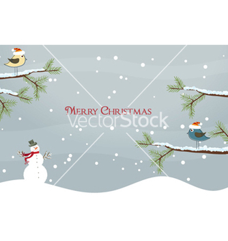 Free christmas card vector - бесплатный vector #254691