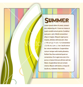 Free summer frame vector - Free vector #254801