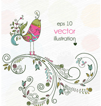 Free spring background vector - Kostenloses vector #254931