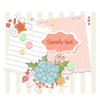 Free spring floral frame vector - Free vector #254971