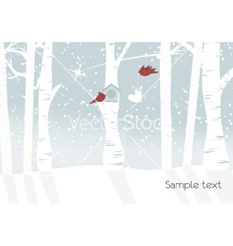 Free winter background vector - Kostenloses vector #255071