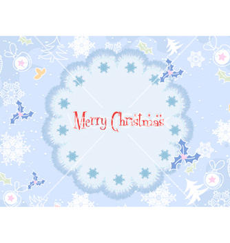 Free christmas frame vector - Free vector #255151