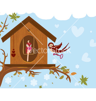 Free love birds vector - vector #255231 gratis