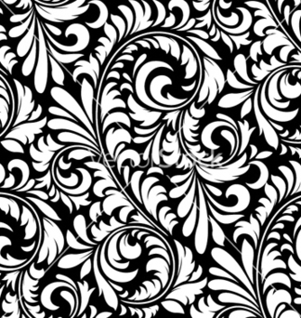 Free floral pattern vector - Kostenloses vector #255301