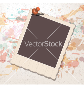 Free old picture frame vector - бесплатный vector #255311