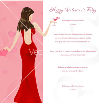 Free valentines glamour background vector - vector #255371 gratis