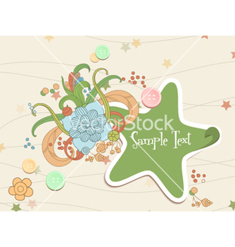 Free spring floral frame vector - Kostenloses vector #255551