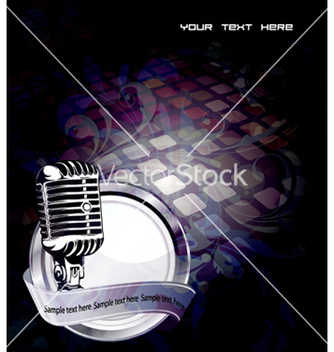 Free music background vector - бесплатный vector #255601