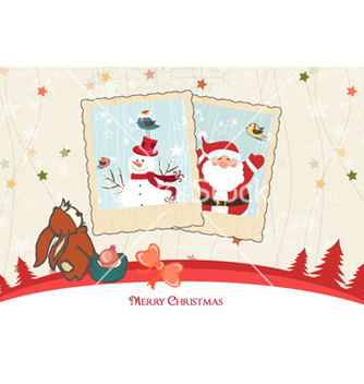 Free winter background vector - vector #255621 gratis