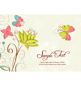 Free abstract floral background vector - Kostenloses vector #256161