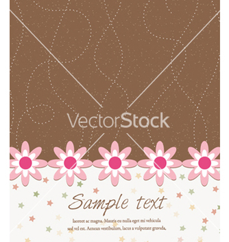 Free stars with floral vector - Free vector #256331