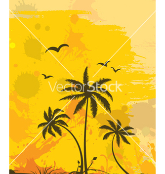 Free grunge summer background vector - Free vector #256381