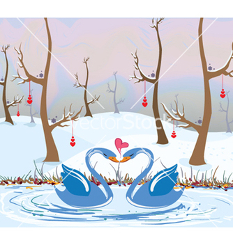 Free love birds vector - vector #256431 gratis