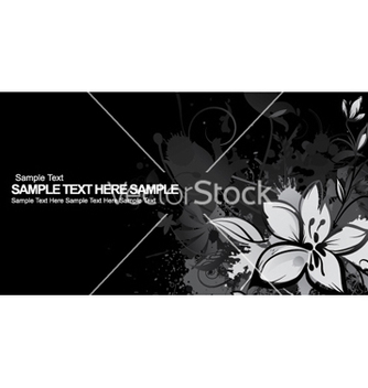 Free vintage floral background vector - vector #256471 gratis