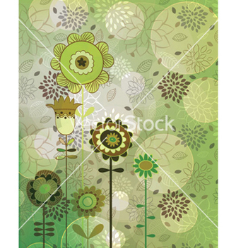 Free colorful floral background vector - Free vector #256581