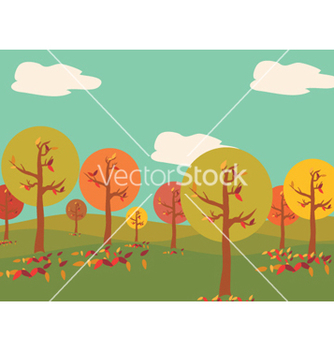 Free abstract trees vector - Free vector #256641