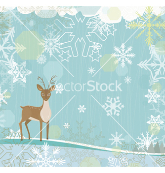 Free christmas background vector - Free vector #256851