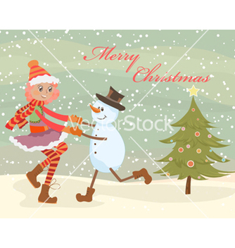 Free christmas background vector - Kostenloses vector #256931