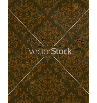 Free grunge damask background vector - Kostenloses vector #257141