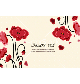 Free floral background vector - Free vector #257151