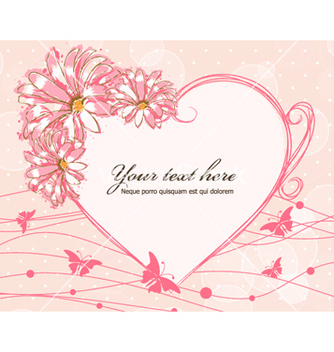 Free colorful floral frame vector - бесплатный vector #257271