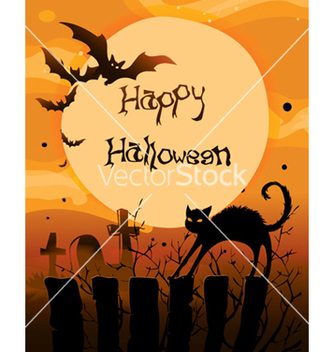 Free halloween background vector - Free vector #257511