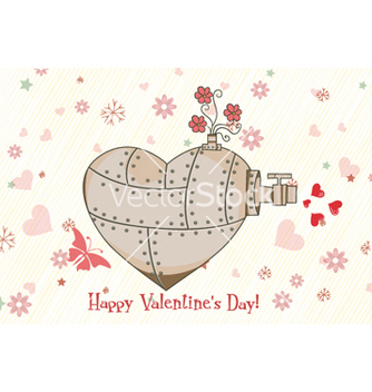 Free valentines day background vector - Free vector #257531