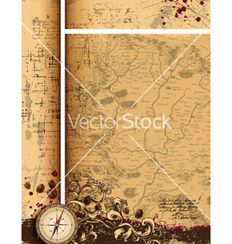 Free vintage background vector - Kostenloses vector #257901