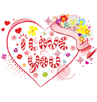 Free valentines day vector - Kostenloses vector #258121