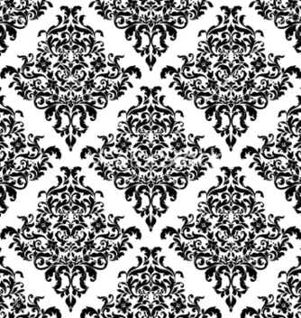 Free damask seamless pattern vector - Kostenloses vector #258351
