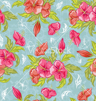 Free colorful floral pattern vector - vector #258371 gratis