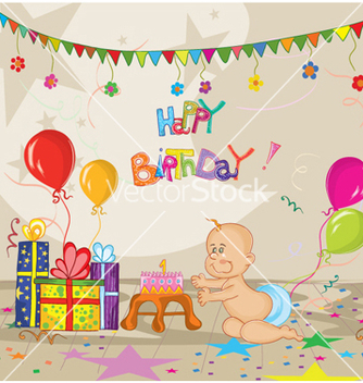 Free kids birthday party vector - Free vector #258741