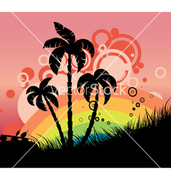 Free vintage summer background vector - vector gratuit #258761