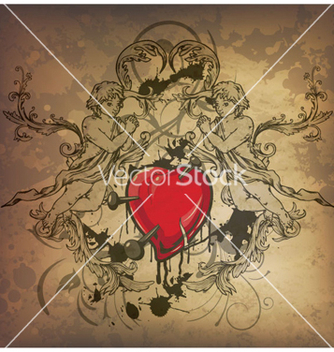 Free vintage background vector - Kostenloses vector #258921