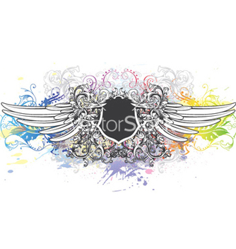 Free colorful vintage emblem vector - Free vector #259031