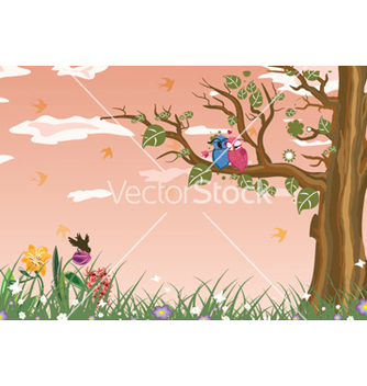 Free love birds vector - vector #259081 gratis
