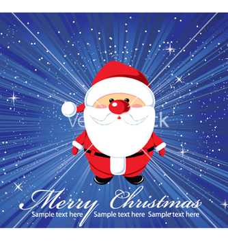 Free christmas greeting card vector - Free vector #259111