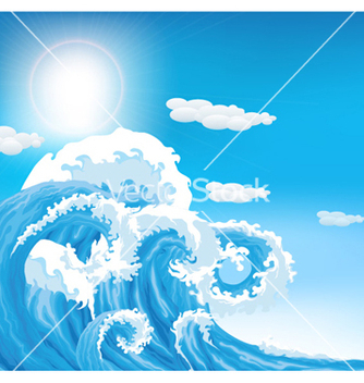 Free summer background vector - Free vector #259121