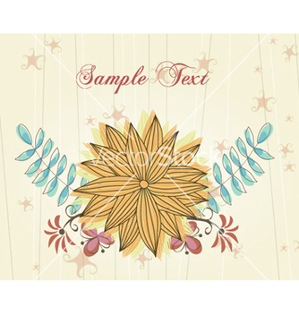 Free colorful floral vector - vector gratuit #259171