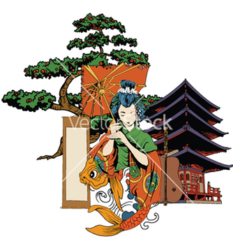 Free japanese emblem vector - Kostenloses vector #259591